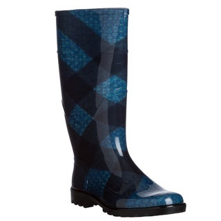 Burberry '3829458' Brit Check Rain Boots
