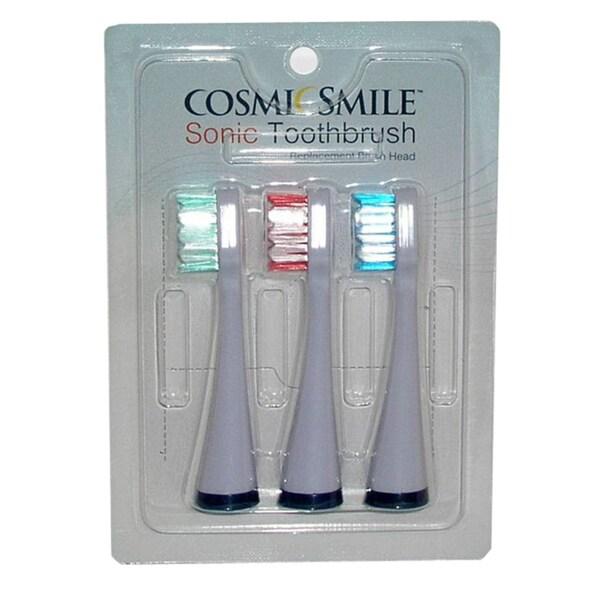 CosmicSmile Sonic Toothbrush Replacement Brush Heads