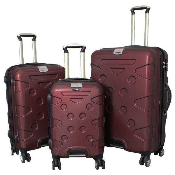 Peninsula 3-piece Lightweight Expandable Hardside Spinner Luggage Set