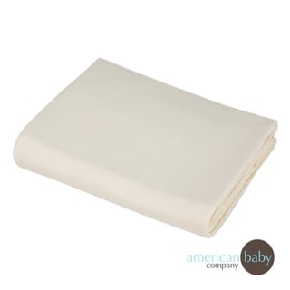 American Baby Company Organic Cotton Knit Porta Crib Sheet