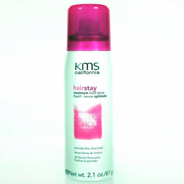 KMS Hairstay 2.1-ounce Max Hold Spray