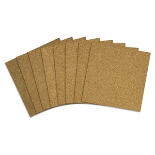 Acco 12x12 Brown Quartet Cork Tiles (Pack of 80)