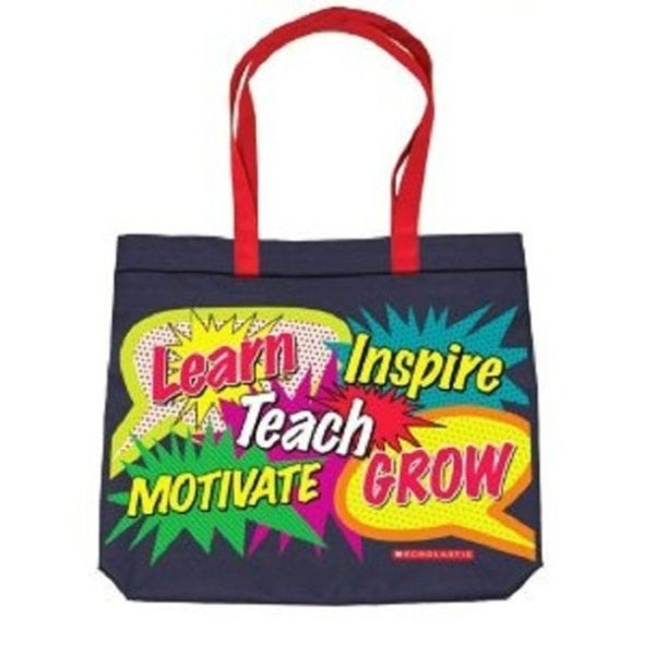 Words in Bursts Tote Bag