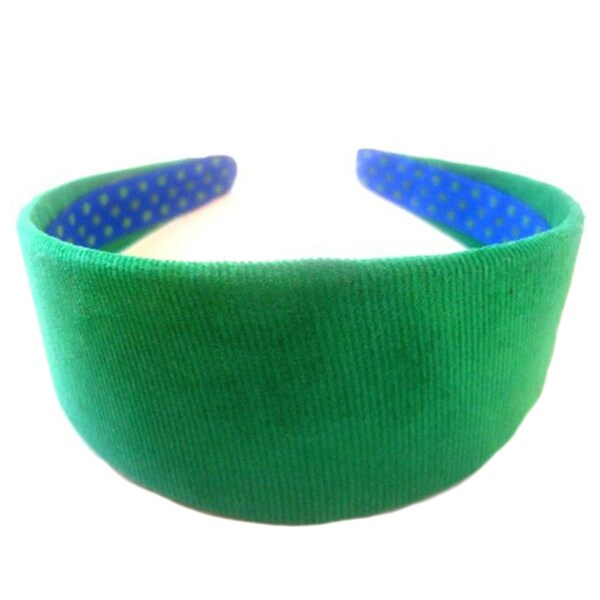 Crawford Corner Shop Fern Green Corduroy Headband