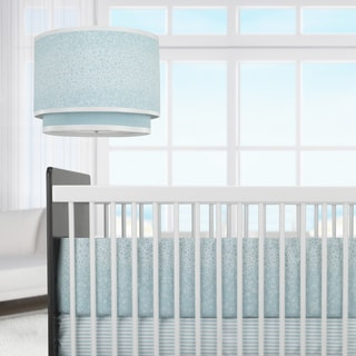 Oilo Raindrops Aqua 3-piece Crib Set