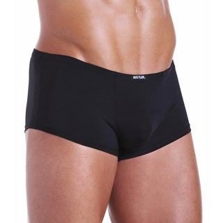 I-Image Men's 'Pimp Shorts' Black Underwear (set of 2)