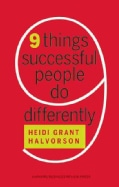 9 Things Successful People Do Differently (Hardcover)