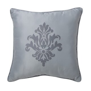 Sarabeth Damask 16-inch Decorative Pillow