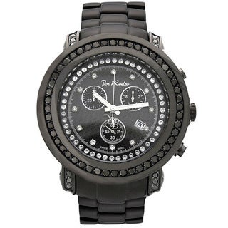 Joe Rodeo Men's 'Junior' Stainless Steel Diamond Watch