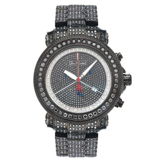 Joe Rodeo Men's 'Junior' Diamond Stainless-Steel Watch