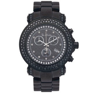 Joe Rodeo Men's Carbon Fiber 'Junior' Diamond Watch