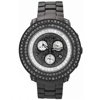 Joe Rodeo Men's Swiss Quartz 'Junior' Diamond Watch