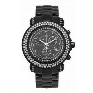 Joe Rodeo Men's 'Junior' Diamond Encrusted Watch