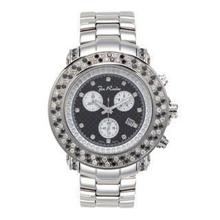 Joe Rodeo Men's 'Junior' Diamond Watch with Luminous Hands
