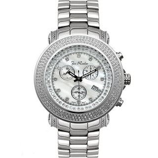 Joe Rodeo Men's 'Junior' Diamond Chronograph Watch