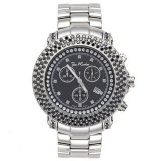 Joe Rodeo Men's Black Dial 'Junior' Diamond Watch