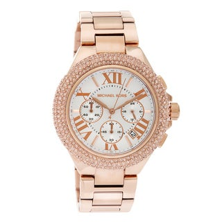 Michael Kors Women's Rose Goldtone Camille Watch