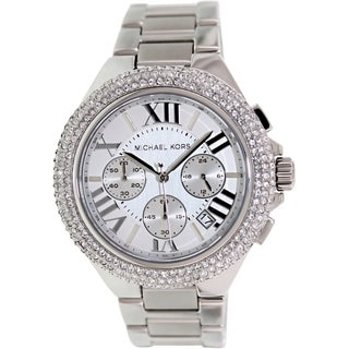 Michael Kors Women's MK5634 'Bella' Crystal-accented Watch