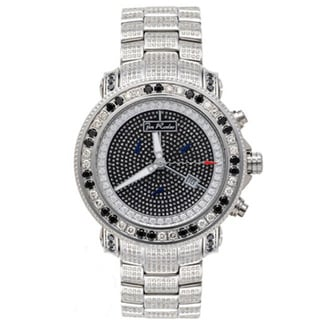 Joe Rodeo Men's 'Junior' Diamond Watch with Gift Box