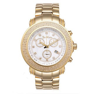 Joe Rodeo Gold Men's 'Junior' Diamond Watch