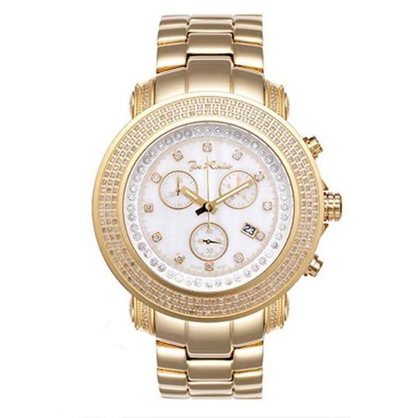 Joe Rodeo Gold Men's 'Junior' Diamond Watch