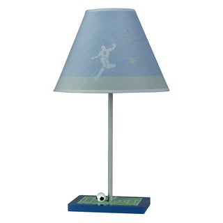 Cal Lighting Soccer Theme Youth Table Lamp