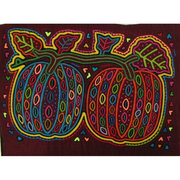 Fabric 'Melon Pair' Tapestry (Panama)