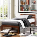 TRIBECCA HOME Haylyn Full Cappuccino Platform Bed
