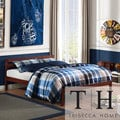 TRIBECCA HOME Haylyn Queen Cappuccino Platform Bed
