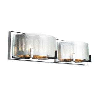 Alternating Current Firefly 4-light Chrome Vanity Fixture