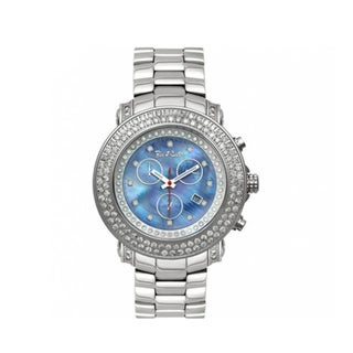 Joe Rodeo Blue Mother-Of-Pearl Men's 'Junior' Diamond Watch
