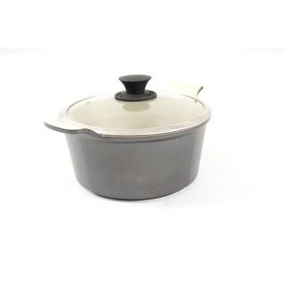 Art & Cuisine Stone Pot with Lid