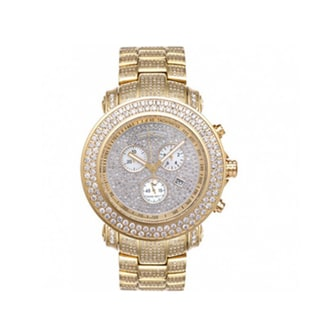 Joe Rodeo Gold Stainless-Steel Men's 'Junior' Diamond Watch