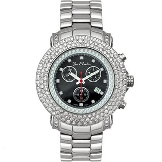 Swiss Quartz Joe Rodeo Men's 'Junior' Diamond Watch