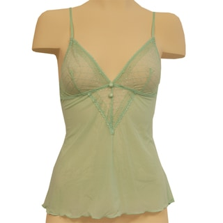 Affinitas Women's Jade Green Melody Camisole