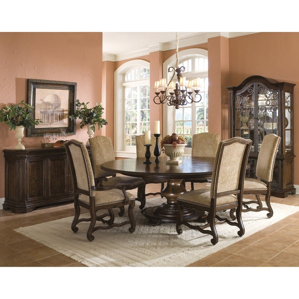 Coronado 9-piece Round Table Dining Set with Arm Chairs