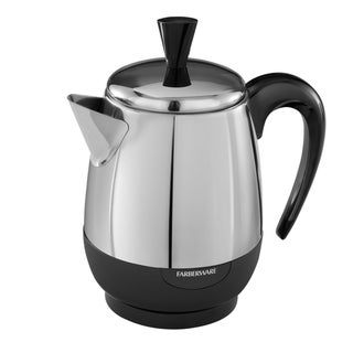 Farberware FCP240 Stainless Steel 2-4 Cup Percolator (Refurbished)