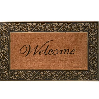Prestige Gold 18x30-inch Coir and Natural Rubber Door Mat