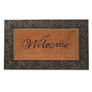 Prestige Silver Welcome Doormat (1'6 x 2'6)