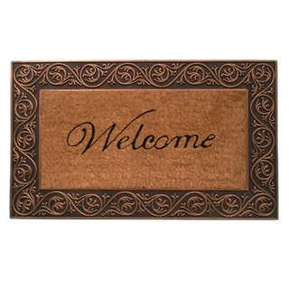Prestige Bronze Welcome Doormat (1'6 x 2'6)