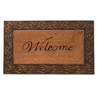 Prestige Bronze 18x30-inch Coir and Natural Rubber Door Mat