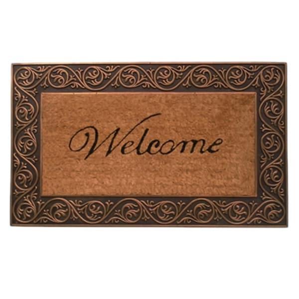 Prestige Bronze Welcome Doormat (1'6 x 2'6)