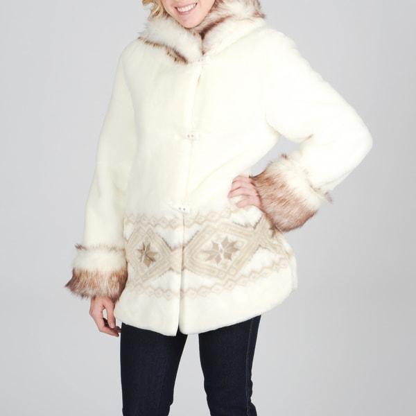 Nuage Women's Faux Fur Coat
