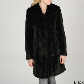 Nuage Women's Samara Faux Fur Coat