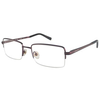 Michael Kors Readers Men's MK159M Brown Rectangular Reading Glasses