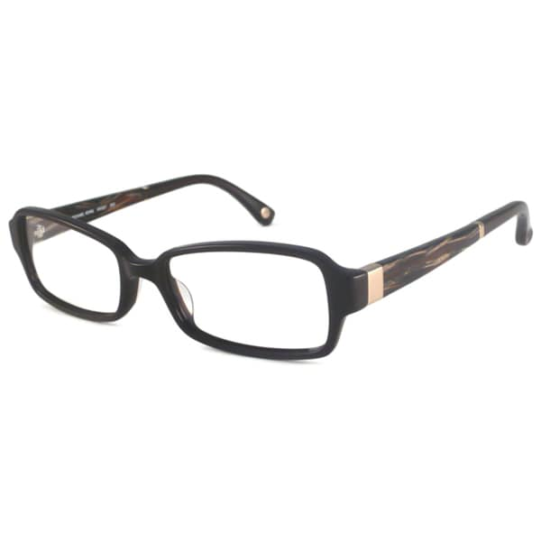 Michael Kors Readers Women's MK687 Brown Rectangular Reading Glasses