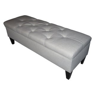 Sole Designs Brooke Tufted Diamond Storage Bench