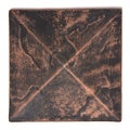 Metallicos Damieta Antique Copper 4-inch x 4-inch Design Tile (Set