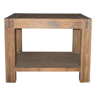 Reclaimed Natural End Table
