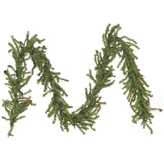 Tannenbaum Multi-colored Lights Garland (9')